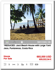Reduced Price Jaco Beach Home with Yard for Sale by REMAX Oceanside